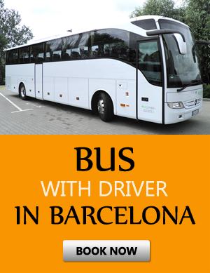 Order bus with driver in Barcelona