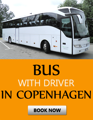 Order bus with driver in Copenhagen