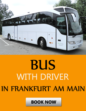 Order bus with driver in Frankfurt am Main
