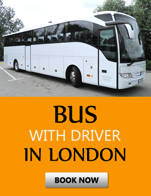 Order bus with driver in London