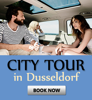 Order city tour in Dusseldorf