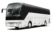 Standart bus for up to 37 seaters with a roomy luggage compartment is an ideal vehicle for long-distance trips.