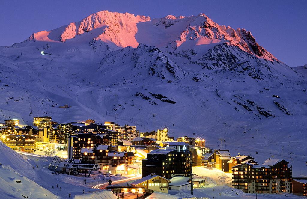Val Thorens ski resorts