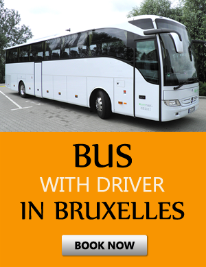 Order bus with driver in Bruxelles