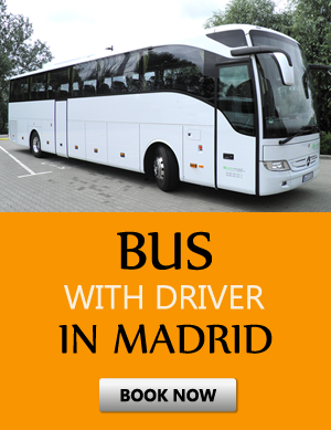 Order bus with driver in Μαδρίτη