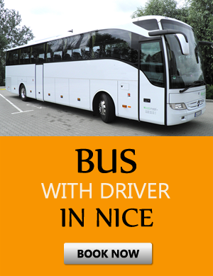 Order bus with driver in Nice