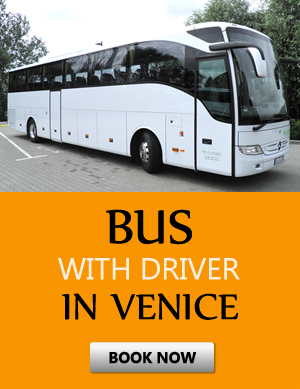Order bus with driver in Venecia