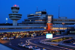 Berlin Airport Tegel Taxi and chauffeur service on Mercedes V class, transfer by Mercedes Sclass, Minivan or VIANO