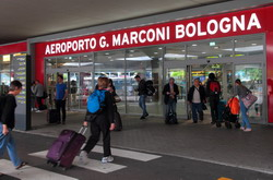 Bologna Airport Taxi and chauffeur service on Mercedes V class, transfer by Mercedes Sclass, Minivan or VIANO