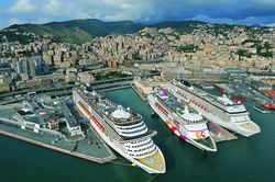 Genoa Cruise Port transfer by Mercedes E-class, transfer by Mercedes S-class, VITO, VIANO