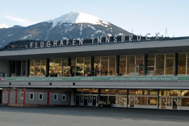 Innsbruck Kranebitten Airport Taxi and chauffeur service on Mercedes V class, transfer by Mercedes Sclass, Minivan or VIANO