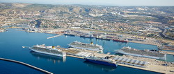 Marseille Cruise Port transfer by Mercedes E-class, S-class or minivan Viano-Vito