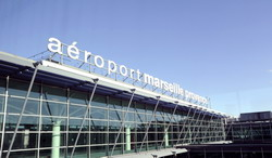 Marseille Airport Provence Taxi and chauffeur service on Mercedes V class, transfer by Mercedes Sclass, Minivan or VIANO
