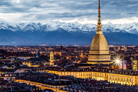 Turin Taxi and chauffeur service on Mercedes V class, transfer by Mercedes Sclass, Minivan or VIANO