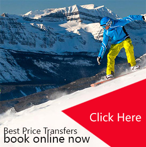 Airport transfers to ski resorts in italy, france, switzerland and austria