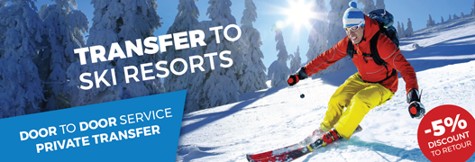 Transfer from Milan to ski resorts