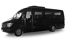 Small comfortable 25 seater bus. The best vehicle for touristic groups and daily car rental.