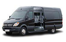 Big minivan with a roomy luggage compartment. Suitable for up to 16 passengers with a large number of luggage.
